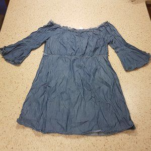 Girls size 14 denim dress Justice Brand